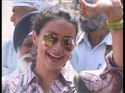 Can't Please Everyone Says Gul Panag to Angry Party Worker.