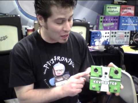 Summer NAMM '10: Pigtronix Keymaster walk-thru