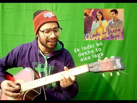 Ek ladki ko dekha to aisa laga title cover by Kashish Kohli | Darshan Raval