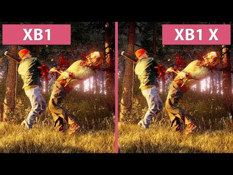 [4K] State of Decay 2 – Xbox One vs. Xbox One X Graphics Comparison