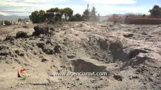 Preocupa a vecinos de Pueblo Nuevo en Lerma, calentamiento en el subsuelo