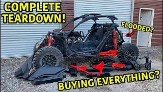 Rebuilding A Wrecked 2019 Can-Am Maverick X3 Turbo Part 2