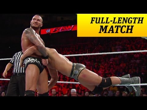 Full-length Match - Raw - Cody Rhodes Vs. Randy Orton video