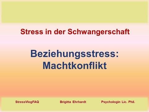 Stressmanagement in der Schwangerschaft: Machtkonflikte