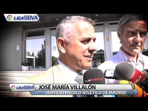 Falcao, la nueva estrella del Atlético de Madrid pasa el reconocimiento médico