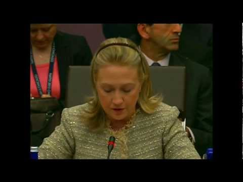 Secretary Clinton Delivers Remarks at the North Atlantic Council Meeting