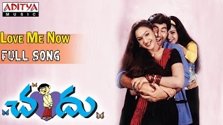 Chandu Telugu Movie || Love Me Now Full Song || Pavan Kuamr, Preethi