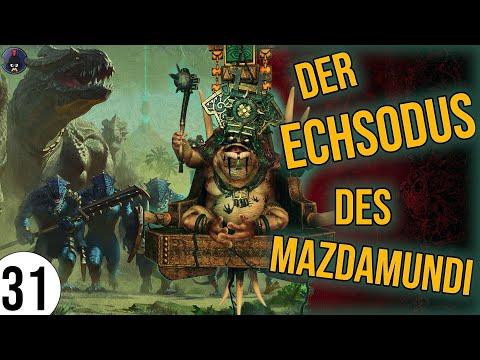 Total War: Warhammer 2 | 31 | Der ECHSODUS des Mazdamundi | Sehr Schwer