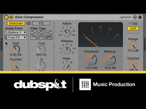 Ableton Live 9 Tutorial: Using The New Glue Compressor