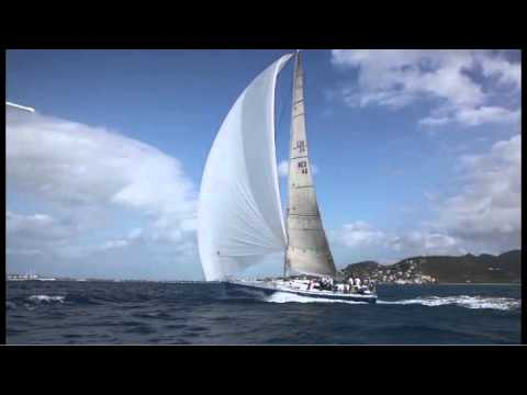 2011 RORC Caribbean 600 offshore yacht race.