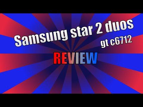 samsung star 2 duos gt c6712