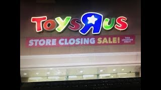Toys R US store closing sale (toy hunting)