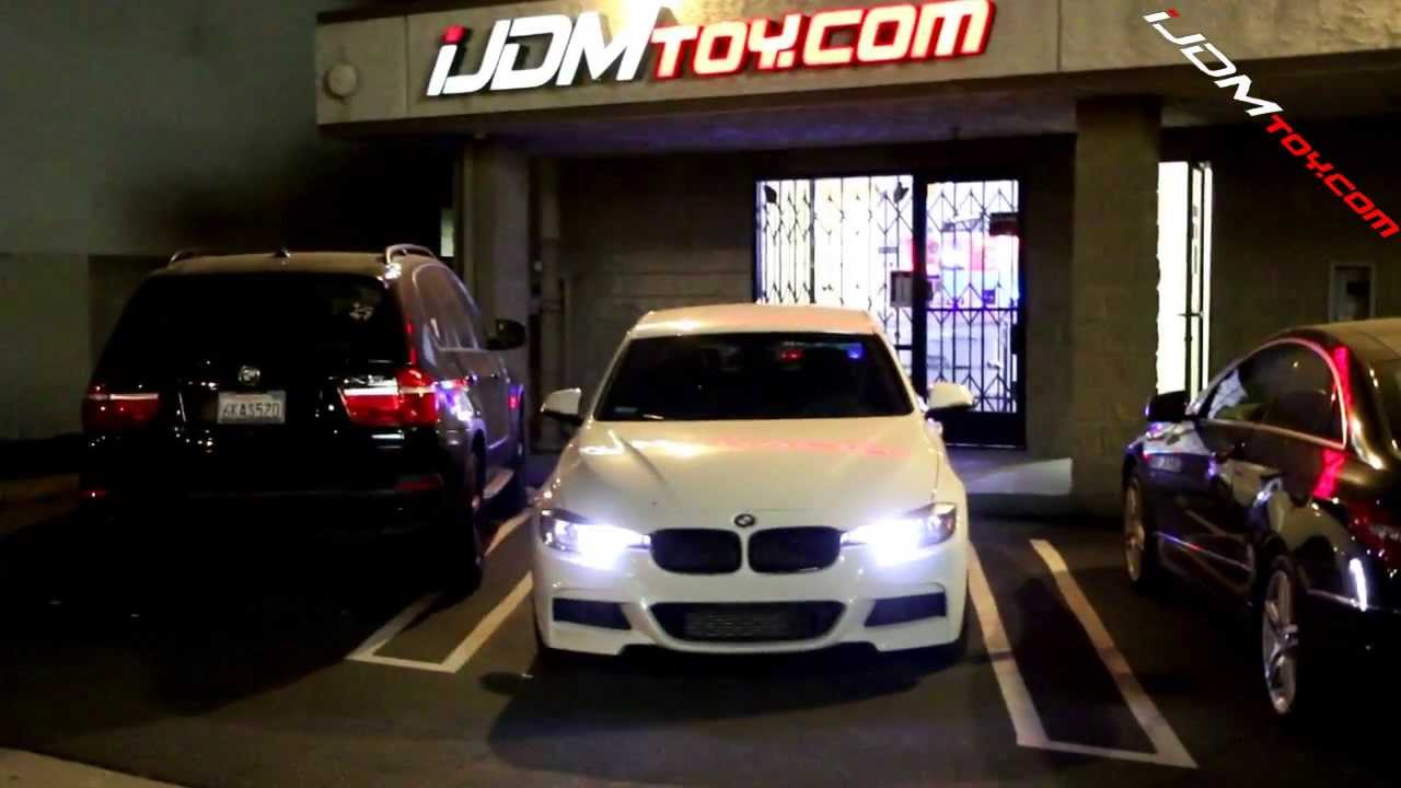 Ijdmtoy High Power Pw24w Led For Bmw F30 3 Series Drl Demo
