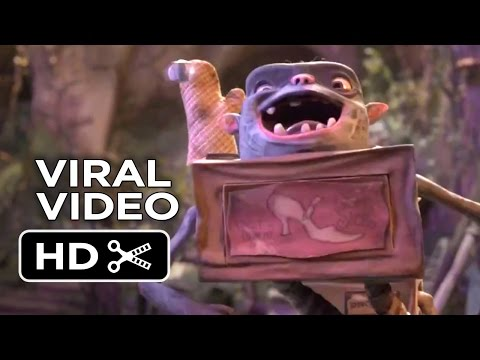 The Boxtrolls VIRAL VIDEO - Play (2014) - Stop-Motion Animated Movie HD