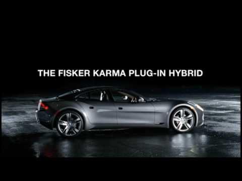 Fisker Karma, первое промо