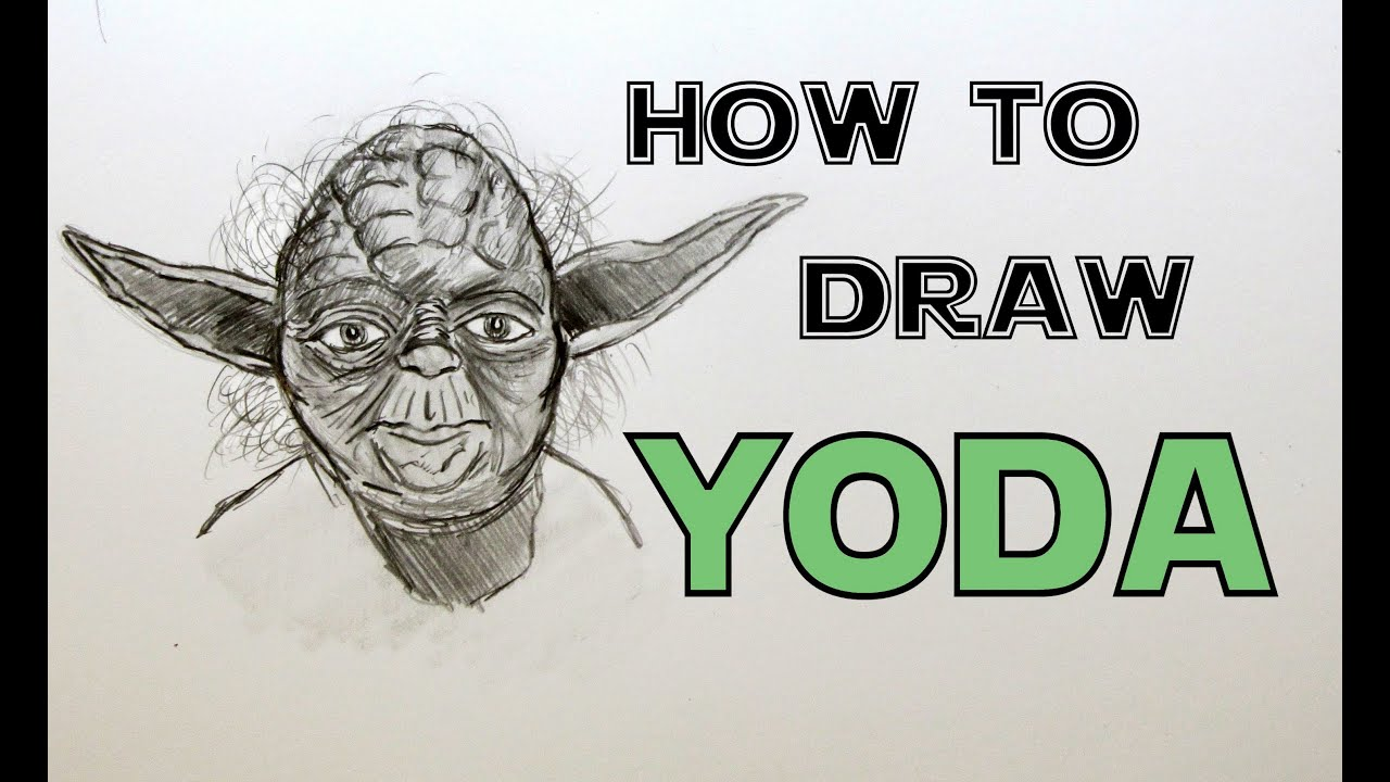 Ep 69 how to draw yoda youtube