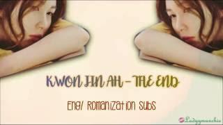 download lagu Kwon Jin Ah – The End 끝 Eng/romanizations Subs gratis