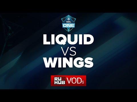 Liquid vs Wings, ESL One Manila LAN Finals, GRAND FINAL, game 1