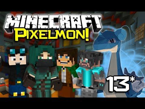 Minecraft PixelCore PIXELMON Let's Play! - Ep13 (A Gravely Nightmare!)