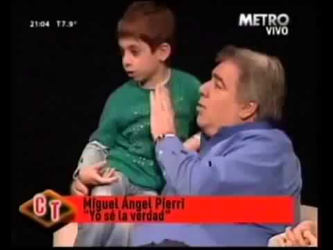 El día que el hijo de Miguel Ángel Pierri adelantó el veredicto de Mangeri en un programa de televisión