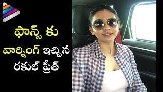 Rakul Preet about her Character Bramaramba | Rarandoi Veduka Chuddam Movie | Naga Chaitanya
