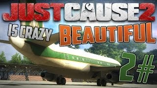 Just Cause 2 is CRAZY Beautiful #2 - Cinematic Tour of Panau Islands [HD]