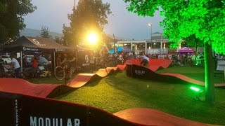 Pumptrack Party at Eurobike 2016 - Modular Pumptrack