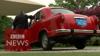 India's iconic Ambassador car - BBC News