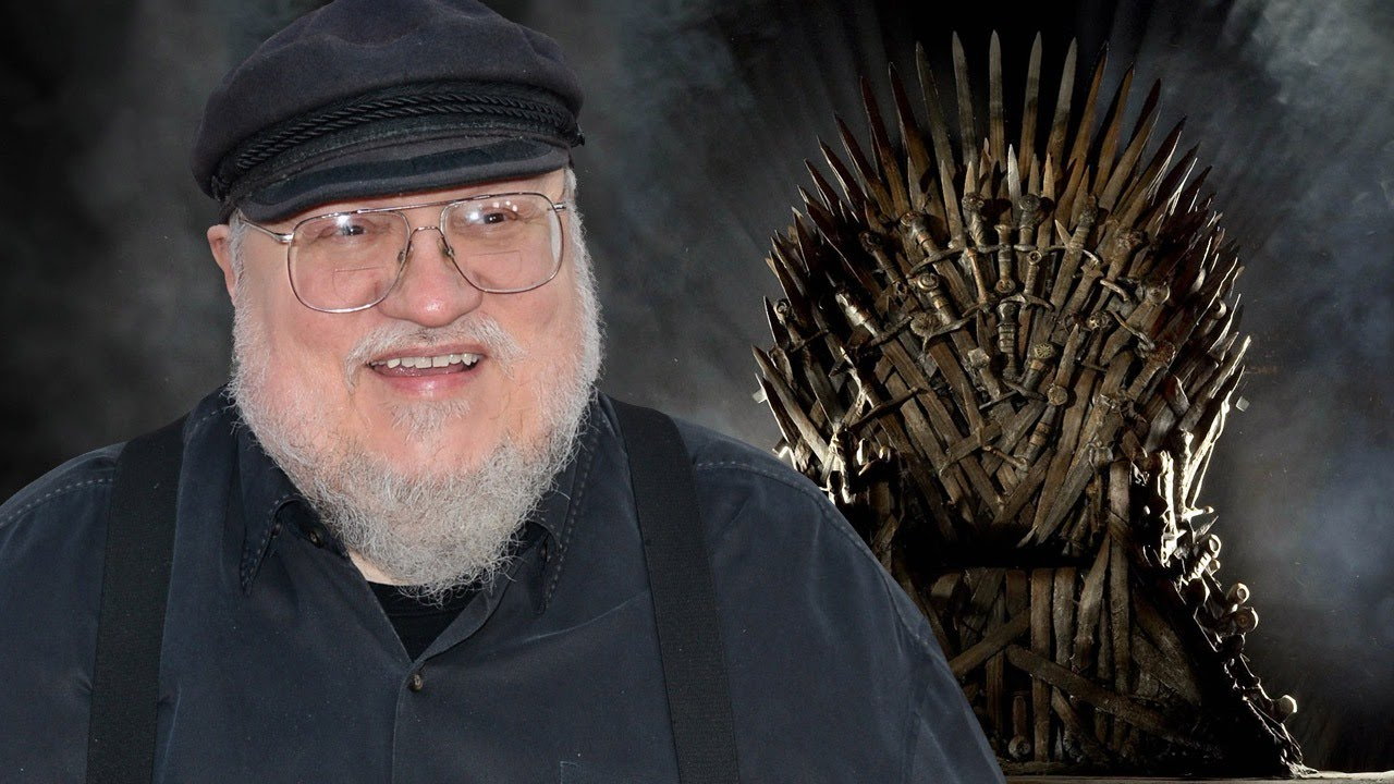 [George R. R. Martin Teases A Game Of Thrones Twist] Video
