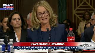 KAVANAUGH HEARING PART 3: Final testimony from Christine Ford (FNN)