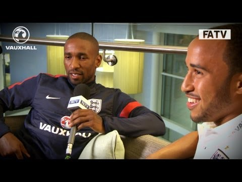 The Defoe Show: Jermain interviews Andros Townsend about his 1st England call up