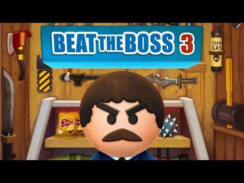 Beat the Boss 3 - iPhone/iPod Touch/iPad - Gameplay HD