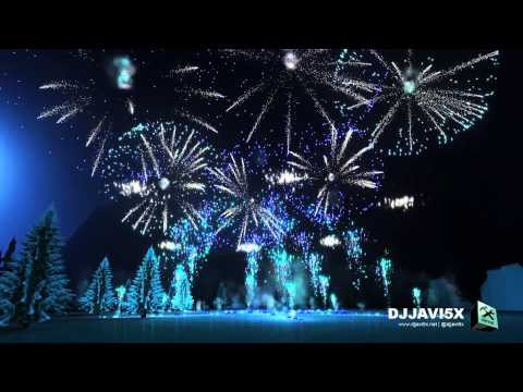 Frozen - Let It Go - Fireworks Show Simulation (Piromusical / Fuegos artificiales)