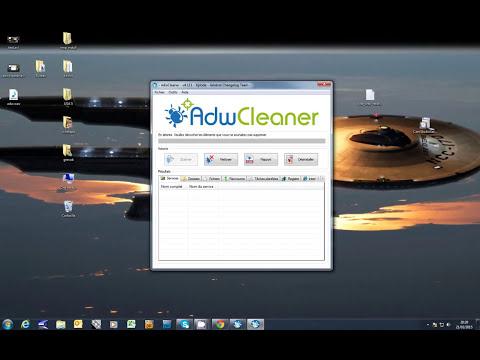 Un truc infaillible pour trouver  et supprimer des malwares , spywares avec AdwCleaner