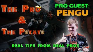 The Pro & The Potato || Rainbow Six Siege tips from pros ft. Pengu
