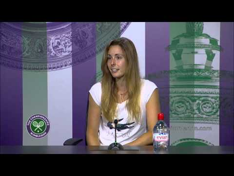 Alize Cornet Third Round Press Conference