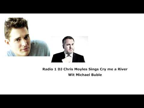 Chris Moyles and Michael Buble
