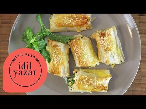 Çıtır Çıtır Peynirli Börek Tarifi - İdil Tatari - Yemek Tarifleri