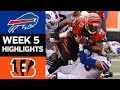 Bills vs. Bengals | NFL Week 5 Game Highlights MP3