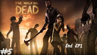 The Walking Dead Season1 A New Day #5 Ending EP 1