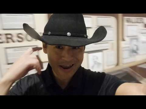 Celebrity Liam Stone Candid Travels Texas Apple Cider Vinegar Texas Ranger Hall of Fame in Waco 2017