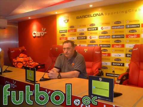 Rubén Israel, Post Partido Barcelona 1 - Emelec 0 (14/09/2014)