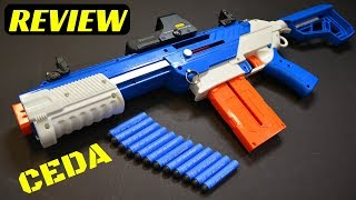 [REVIEW] Jet Blaster CEDA (A Fully Customizable Nerf Blaster!)