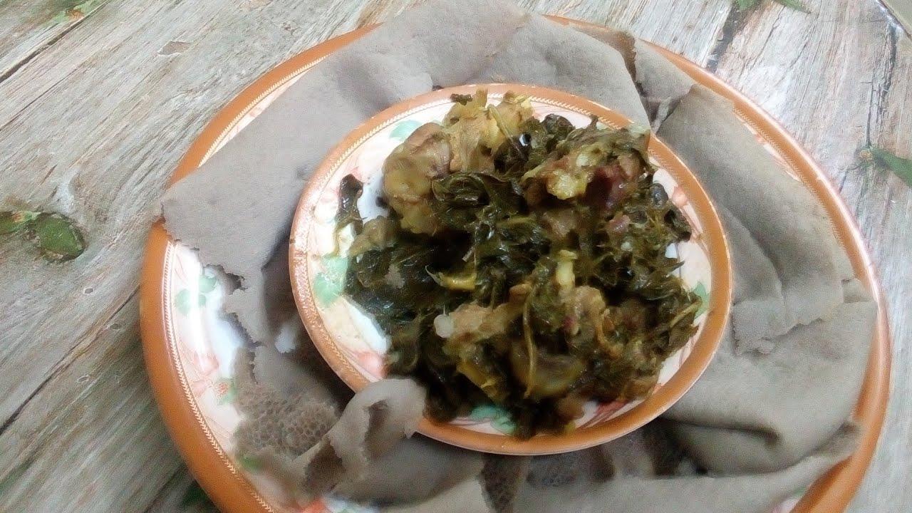 Ethiopian Food: ጎመን በስጋ አሰራር