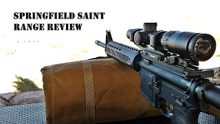 Springfield SAINT Range Review