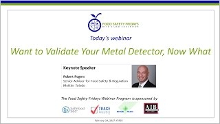 Want to Validate Your Metal Detector, Now What?