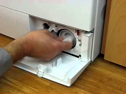 What To Do If Your Washer Won T Drain Bosch Axxis Models
