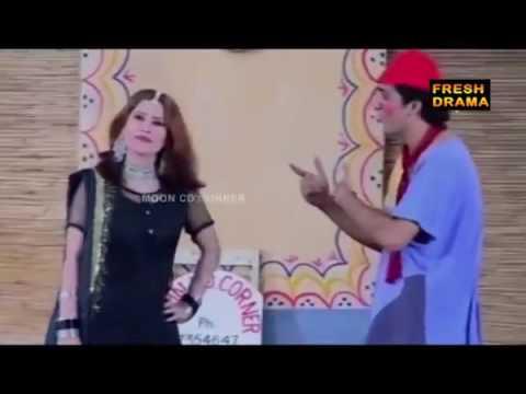 Sajjan Abbas   Zafri Khan Sxy Girls Pakistani Stage Drama Comedy Show Latest