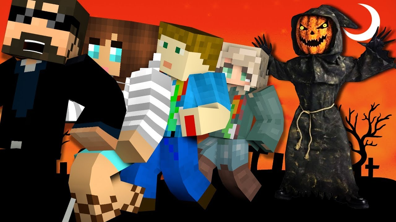 Minecraft: HALLOWEEN MURDER | MODDED MINI-GAME
