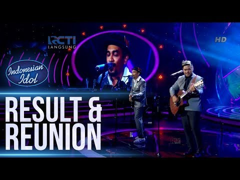 ABDUL ft. GLENN FREDLY - MEDLEY SONG - RESULT & REUNION - Indonesian Idol 2018